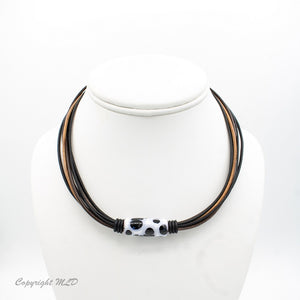 Cayuse Leather Necklace