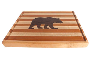 Hardwood Cutting Board - The Grizzly Bear - Distinctly Montana - 7
