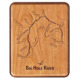 Big Horn River Cherry Fly Box
