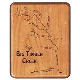 Cherry Fly Box, Big Timber Creek