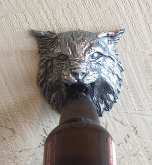 Bobcat Beer Bottle Opener