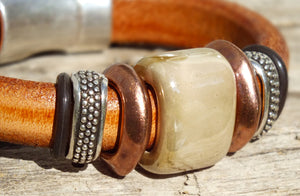 Palomino Leather Bracelet