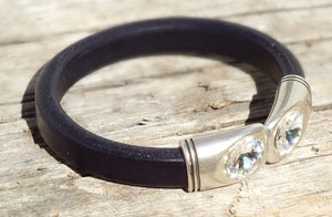 Steppin' Out Leather Bracelet - Distinctly Montana - 1