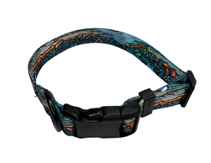 """Bridger"" Dog Collar & Leash"