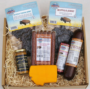 Made In Montana Buffalo Gift Basket