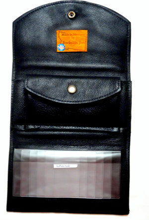 Buffalo Hide Wallet, Open