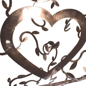 Montana Love Metal Wall Art Detail