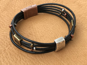 Chinook Leather Bracelet