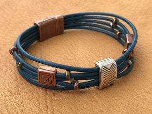 Chinook Leather Bracelet SOLD OUT