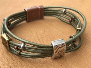Montana Made Leather Bracelet