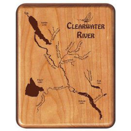 Walnut Fly Box - Distinctly Montana - 16