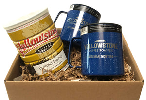 Yellowstone Coffee Vintage Can Gift Set