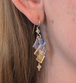 Clear Skies Earrings - Model