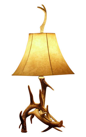 Whitetail Deer Antler Table Lamp