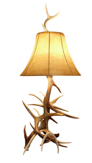 Buck Deer Antler Table Lamp