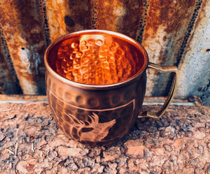Copper Montana Elk Mug