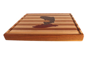 Hardwood Cutting Board - The Trout - Distinctly Montana - 6
