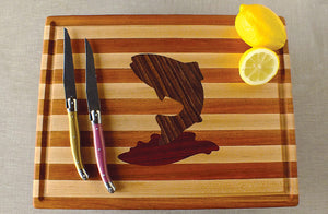 Hardwood Cutting Board - The Trout - Distinctly Montana - 2