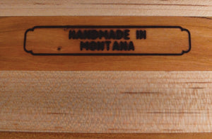 Hardwood Cutting Board - The Trout - Distinctly Montana - 11