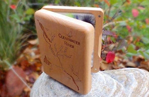 Custom Beech Wood Fly Box