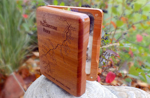 Mahogany Fly Box