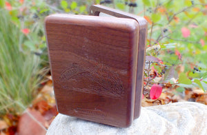 Custom Walnut Fly Box