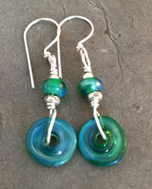 Green Pastures Montana Earrings made in Montana
