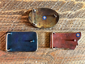 Wlldlife Montana Belt Buckle [choose finish]