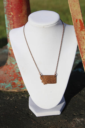 Copper Montana Necklace