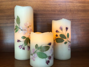Crabapple Flameless Candle