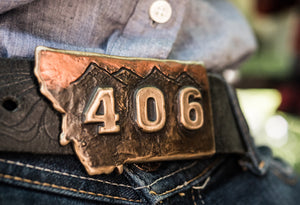 406 Montana Buckle- made in Montana
