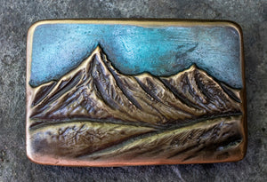 Blue Mountains Montana Buckle