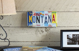 MONTANA License Plate Sign