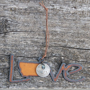 Love Montana with Nickel Ornament