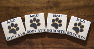 Montana State Cats Coasters