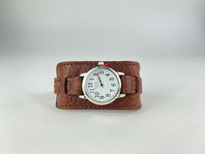 Montana Buffalo Hide Watch