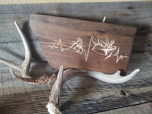 Montana Heartbeats Hunting Sign