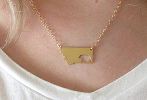 Bear Montana Necklace
