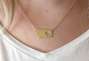 Moose Montana Necklace (GOLD ONLY)