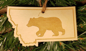 Montana Wildlife Ornaments