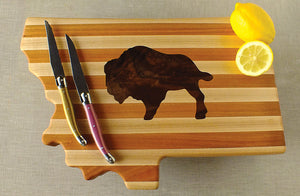 Montana Cutting Board, Bison