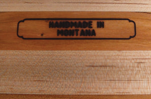 Wood Cutting Board Made In Montana