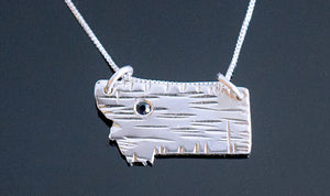 Montana Shaped Necklace