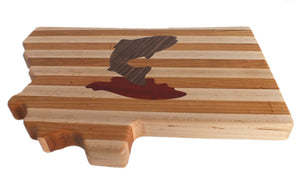 Hardwood Cutting Board - The Trout - Distinctly Montana - 7