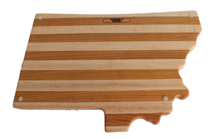 Hardwood Cutting Board - The Trout - Distinctly Montana - 8