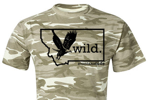 Camo Eagle T-Shirt, Unisex SOLD OUT