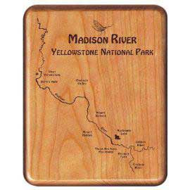 Custom Engraved Beech Fly Box (choice of river)