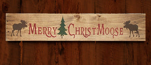 Montana Sign Christmas Moose