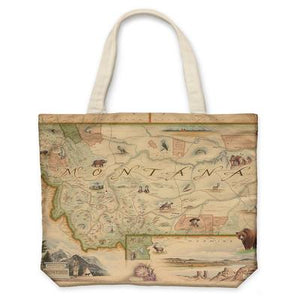 Montana Canvas Tote Bag