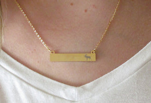 Moose Bar Montana Necklace